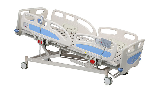 Five Functions Adjustable Electric ICU Medical Bed